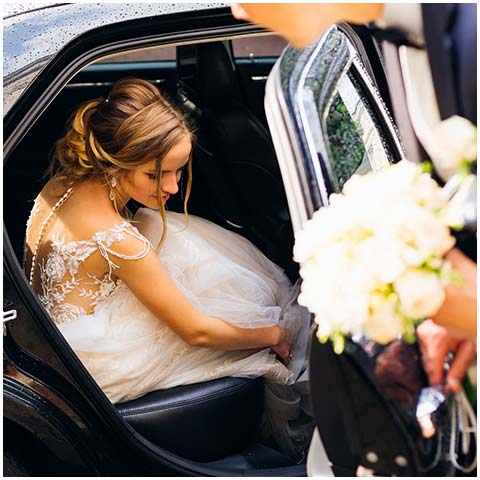 Special Events & Weddings car with driver